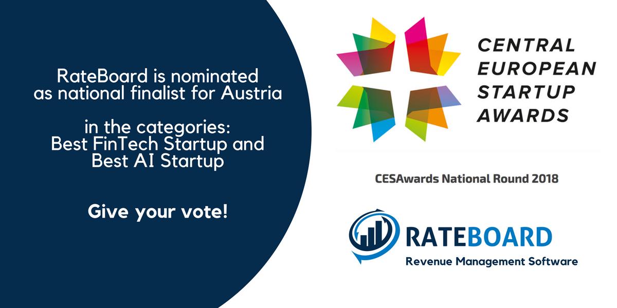 Central European Startup Awards - Public Voting