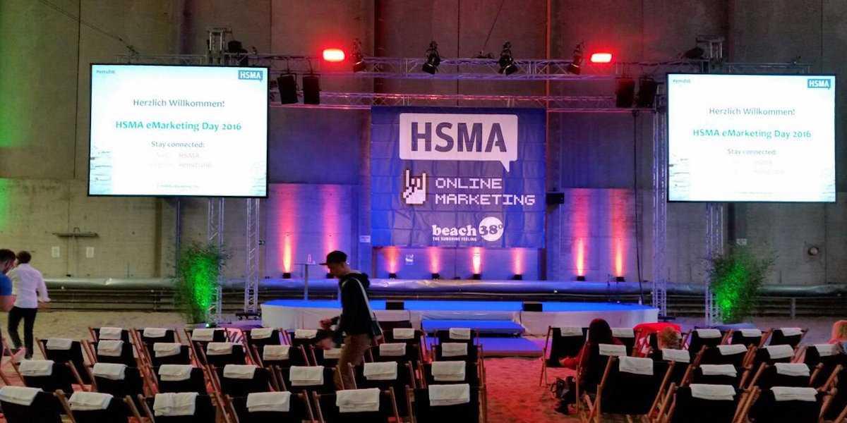 HSMA eMarkting Day 2016